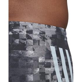adidas Pro 3-Stripes AOP Boxers Hombre, black/ash grey